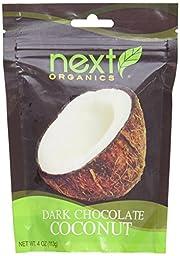 Next Organics: Organic Dark Chocolate Coconut, 4 oz