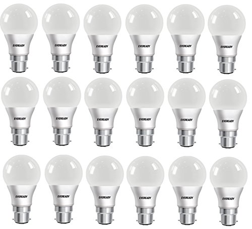 Eveready-8W-LED-Bulbs-(Cool-Day-Light,-Pack-of-18)