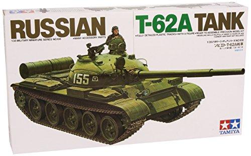 Tamiya-300035108-Plastikmodellbau-135-Russischer-Kampfpanzer-T62A-1