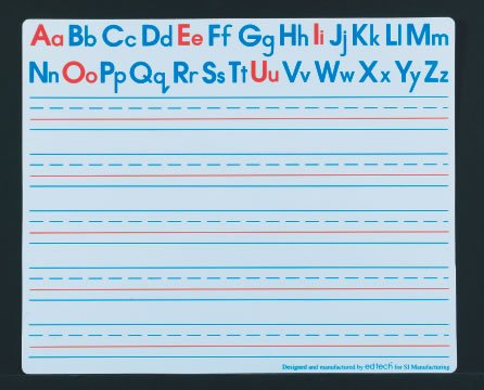 Buy Alphabet Write and Wipe Boards – Set of 30
