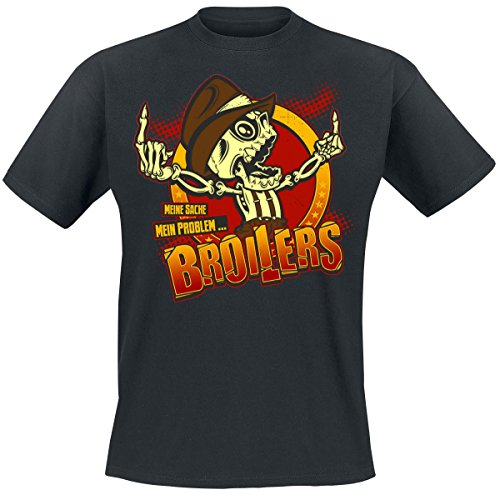 Broilers Two Fingers - Meine Sache mein Problem T-Shirt nero 3XL