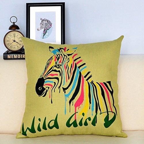 throw-pillow-minimalist-modern-cartoon-sofa-pillow-chip-cushion-seat-cushion-zebra-series-cotton-lin