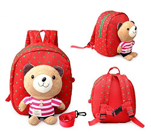 Yantzi's CM Star Super Baby Toddler Kids Safety Harness Backpack Bag (Pink) - 1