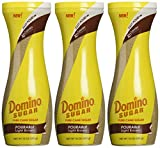Domino Brown Sugar Easy Pourable Light Brown 10 Oz (3 Pack)