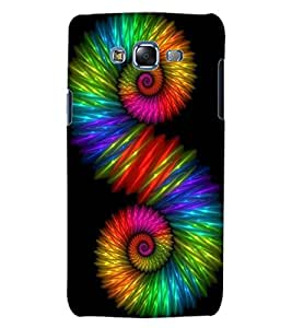 ColourCraft Abstract Image Design Back Case Cover for SAMSUNG GALAXY J5