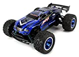 Velocity Toys S-Track Matrix Electric RC Truggy Big Size 1:12 Scale Off Road Racing RTR High Performance, 4 Wheel Independent Suspension (Colors May Vary)