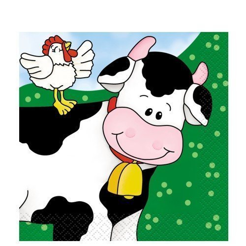 Farm Friends Beverage Napkins
