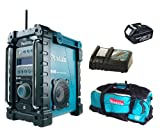 Makita 18V LXT BMR101 BMR101Z BMR101Rfe Job Site Radio With Dab, BL1830 Battery, DC18RC Charger And LXT600 Bag