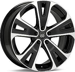 Enkei SVX- Truck Series Wheel, Black Machined (18×8″ – 5×114.3/5×4.5, 40mm Offset) One Wheel/Rim