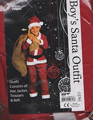 Boy's Costume Kit: Santa Claus / Elf - Santa Suit