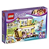 Stephanie's Beach House LEGO® Friends Set 41037
