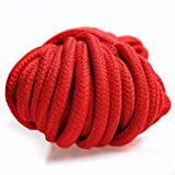 KissyBody [Pack of 2] 32-foot 10m Long Soft Silk Rope (Black, Red)
