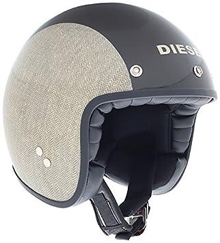 AGV Helmets 110PA2E0_002_L Casque Jet Old Jack Diesel E2205 Multi, Multicolore (Chevron Marron), L