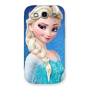 Ajay Enterprises Winked Princess Freez Multicolorer Back Case Cover for Galaxy S3