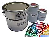 1,75 Liter Set 2K Autolack UNI in RAL oder Autocode Wunschfarbe kein Klarlack nötig
