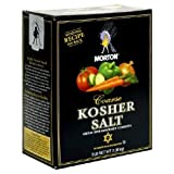 Morton coarse kosher salt 3 lb