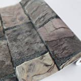 Wall Paper Adhesive Stone Simulation Wall Stickers Home Decor