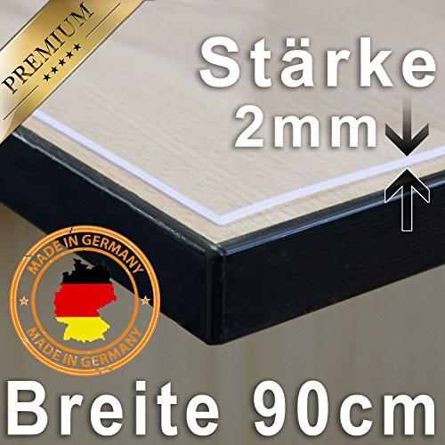 Tischdecke-Tischfolie-Schutzfolie-Tischschutz-Folie-2mm-transparent-90cm-Breit-Lnge-whlbar