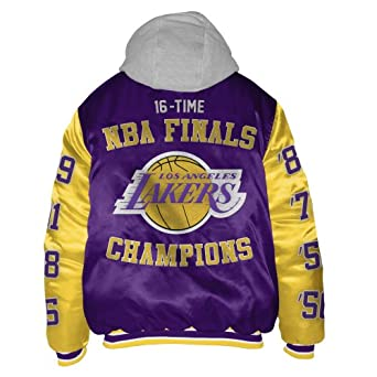Los Angeles Lakers Sixteen Time Championship Satin Jacket by G-III Sports