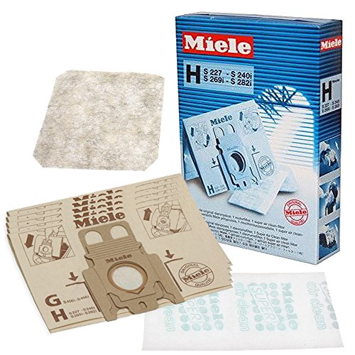 5 x 3D Type MicroFibre GN Hoover Bags For MIELE S8000 S8 Series Vacuum Filters