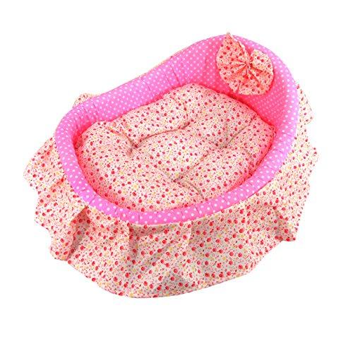 Tera Pink Pet Mat Dog Cat Puppy Soft Sleeping Pad Bed Plush Cushion Cozy Nest M Size