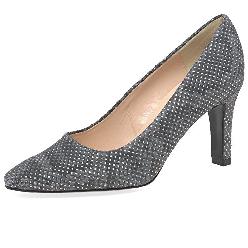 Peter Kaiser Tosca Womens Scarpe Décolleté 6 UK/ 39.5 EU Fumo Diamond
