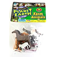 Ja-Ru Planet Earth Farm Animals, 3-Pack