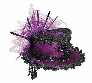 Forum Novelties Women's Steampunk Victorian Mini Top Hat Costume Accessory by Forum Novelties Costumes