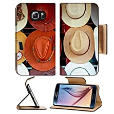 buy Msd Samsung Galaxy S6 Flip Pu Leather Wallet Case Hat Shop At The Market Image 22472204
