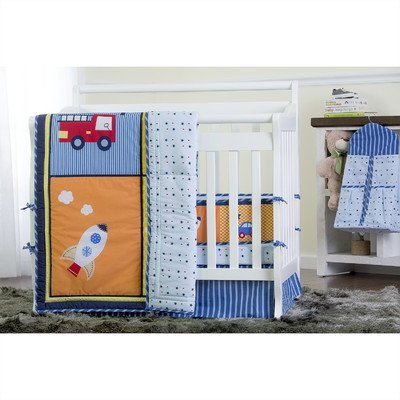 Dream On Me On The Go 5 Piece Reversible Full Size Crib Set