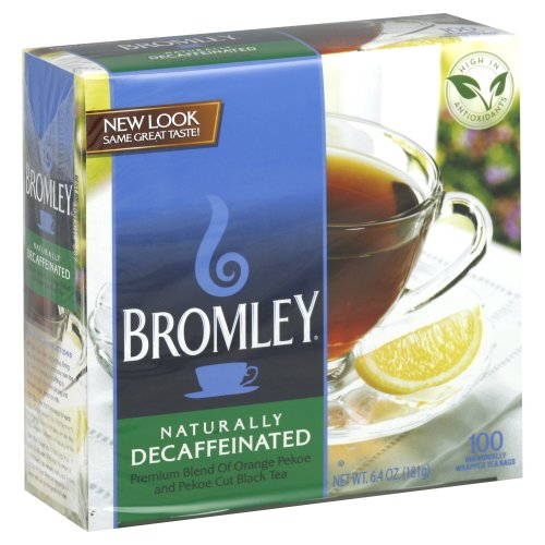 Bromley Decaffeinated Tea 100.0 BG (Pack of 12) by Bromley