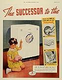 1937 Ad Bendix Home Laundry Washing Machine Appliances - Original Print Ad