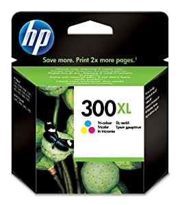 HP 300XL High Yield Tri-color Original Ink Cartridge (CC644EE)
