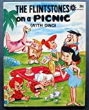 THE FLINTSTONES on a picnic with dino.