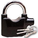 Motion Sensor Motor Bikes Security Pad Lock Siren Alarm Padlock Home Office -01