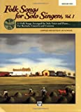 Folk Songs for Solo Singers: Medium High