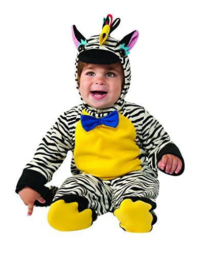 Rubie's Costume Co Baby's Zebra Costume, Multi, 12-18 Months