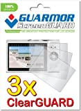 3x Canon PowerShot ELPH 110 HS (Canon IXUS 125 HS) Premium Clear LCD Screen Protector Cover Guard Shield Protective Film Kit (3 Pieces)
