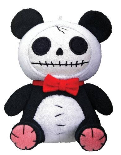Pandie Panda Furry Bones Plush Stuffed Animal Doll Small Collectible
