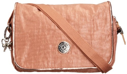 Kipling Womens Delphin ST Shoulder Bag K1236107M Copper Dust