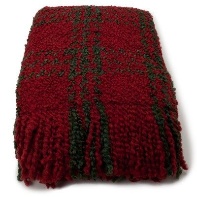 Concord Decorative Acrylic / Polyester Throw Color: Holly