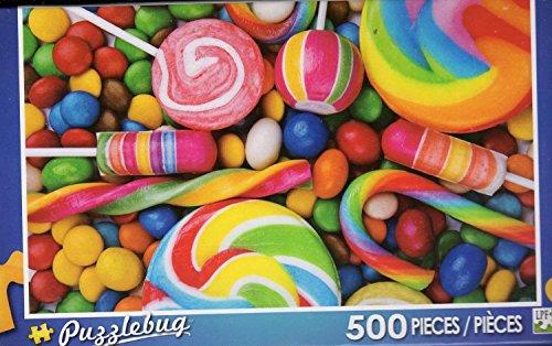 Puzzlebug 500 Piece Puzzle ~ Candy Swirls - 1
