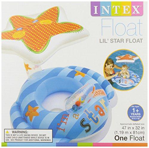 Intex 56582ep inflatable lil 39 star baby float 47 x 32 for Intex gartenpool