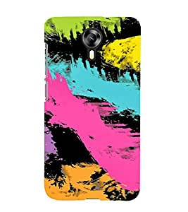 PrintVisa Painting Art Pattern 3D Hard Polycarbonate Designer Back Case Cover for Micromax Canvas Express 2 E313