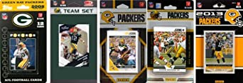 NFL Green Bay Packers 5 Different Licensed Trading Card Team Sets by C&I Collectables