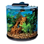 Tetra 29234 half moon 10-gallon aquarium kit