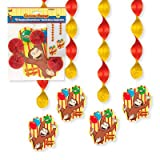 Curious George Hanging Decorations 4ct