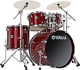 """YAMAHA ヤマハ ドラムセット SCB2F5:CR [Stage Custom """"All Birch Shell"""" 22インチ・バスドラム / クランベリー・レッド]"""
