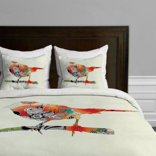 Deny Designs Iveta Abolina Little Bird Duvet Cover, King front-387310