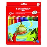 Staedtler Luna Coloured Pencil, 24 Shades